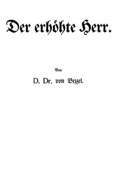 File:Hermann von Bezzel - Der erhöhte Herr.pdf