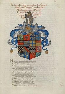 John de Beauchesne calligrapher and writing-master from France