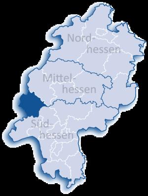 Limburg-Weilburg - Image: Hessen LM