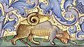 Heures de Charles VIII 106R Saint Christophe (bas).jpg