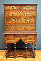 High chest of drawers, maker unknown, Massachusetts, c. 1720, elm, maple, pine - De Young Museum - DSC00970.JPG