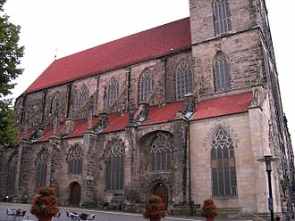 St. Andreas, Hildesheim - The nave
