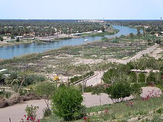 Hillah City in Babylon, Iraq