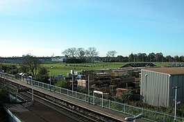 Hilsea Station, and playing fields. - geograph.org.uk - 81958.jpg