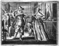 Hipparchia and Crates - Proefsteen van de Trou-ringh - 1646 version.png