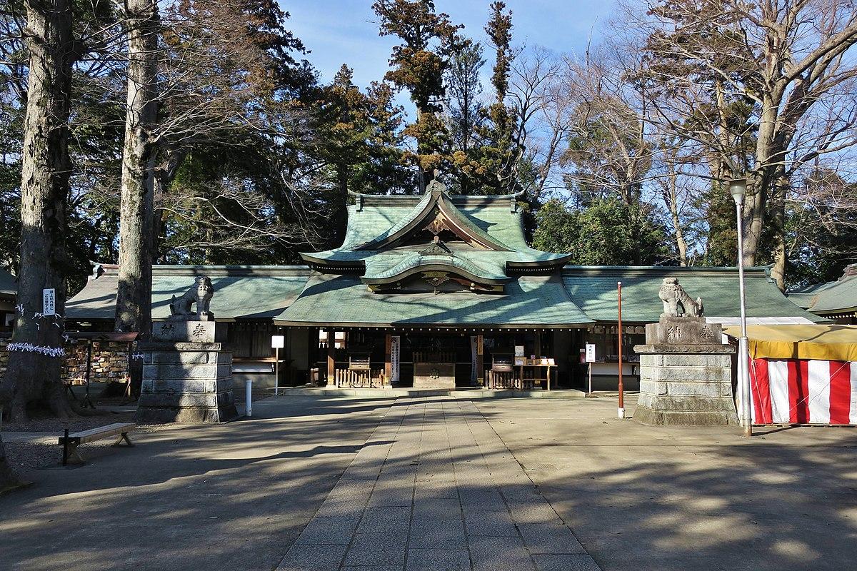 一言主神社 (常総市) - Wikipedia