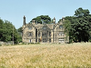 John Monckton, 1st Viscount Galway - Hodroyd Hall, near Barnsley, seat of the Monckton family since the early 17th century.