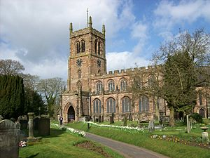Eccleshall - Holy Trinity Church, Eccleshall
