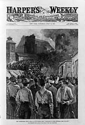 who was involved in the homestead strike