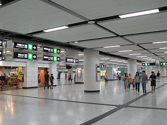 Hong Kong Station - Station concourse