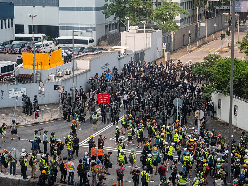 Hong Kong protests - Kwong Tong March 20190824 - P1066378.jpg