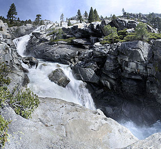 Desolation Wilderness - Horsetail Falls (California)