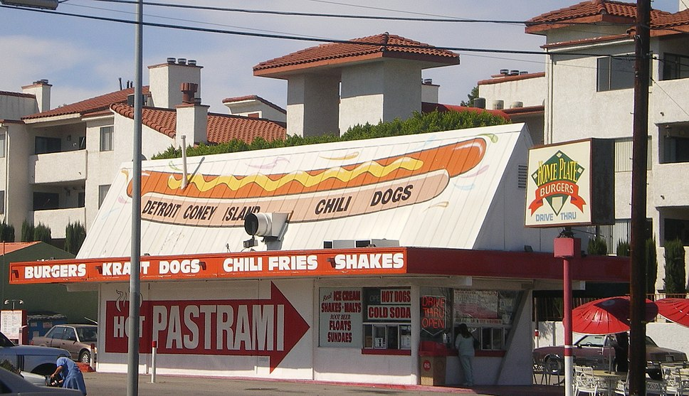 Famous Hot Dog Stand In Chicago