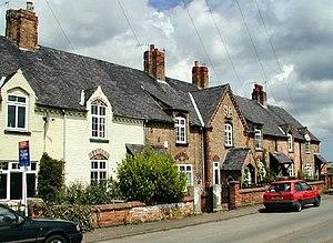 Thrumpton - Image: Houses at Thrumpton geograph.org.uk 14907