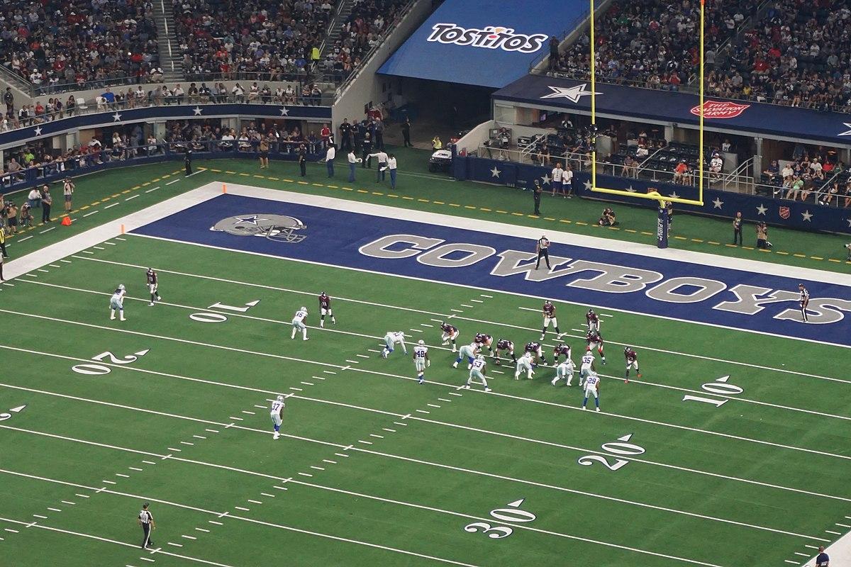 Houston Texans and Dallas Cowboys