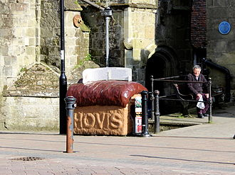 Hovis - Hovis bread monument at Gold Hill