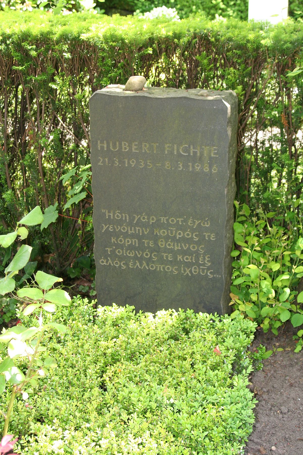 hubert fichte – wikipedia