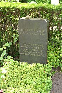 Hubert Fichte German writer