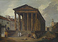 Hubert Robert. Ancient temple, 1787.jpg