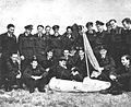 Huggins visits No. 266 (Rhodesia) Squadron, May 1944 a.jpg