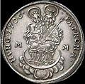 Hun II Rakoczi Ferenc Forint 1706 MM Huszar 1525 reverse.jpg