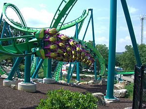 Hydra the Revenge, Dorney Park, Allentown, Pensylwania, USA.  border