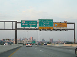 Interstate 95 - Wikipedia on garden state parkway map, interstate 295 map, route 495 map, i-74 map, northern state parkway map, i-85 map, 81 north map, daylight map, interstate 91 map, east coast highway map, interstate 65 map, new jersey turnpike map, 10 east map, interstate 87 map, i-93 map, i-24 map, interstate 93 map, pa turnpike map, interstate 81 map,