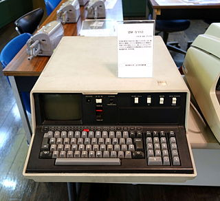 IBM 5110 portable computer released by IBM in January 1978