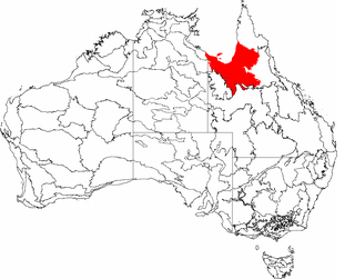 Gulf Plains Region in Australia