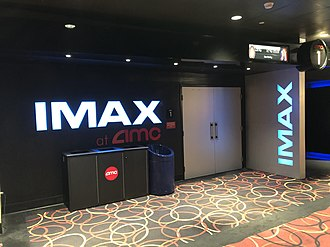 IMAX - This is a typically entrance to an IMAX digital theater. This one is located at the AMC Barton Creek Square 14 in Austin, Texas.