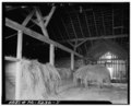 INTERIOR FRAMING DETAIL - Tom Clark Barn, State Route 52 (Pocopson Township), Lenape, Chester County, PA HABS PA,15-LENA.V,3A-5.tif