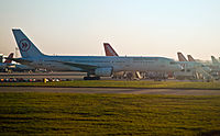 Iceland Express Boeing 757-200 G-STRY Gatwick Airport.jpg