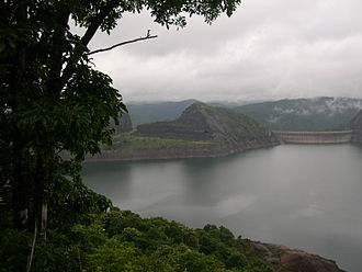 Periyar (river) - Idukki Dam across the Periyar river