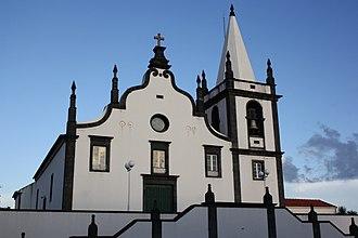 Castelo Branco (Horta) - The Church of Santa Catarina, in the junction of several roads in Castelo Branco