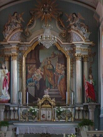 Louriçal - Image: Igreja Matriz Lourical