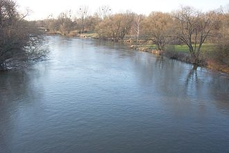 Fritz Haarmann - The Leine River, into which Haarmann disposed of many of his victims' dismembered remains
