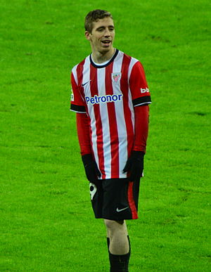 Iker Muniain - Muniain playing for Athletic Bilbao in 2014