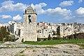 Il Campanile Chiesa rupestre Madonna della Stella e sullo sfondo la Città.jpg