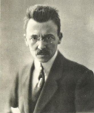 Lo straniero - Portrait of the composer in the early 1920s