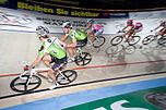 Zweier-Mannschaftsfahren beim Sechstagerennen