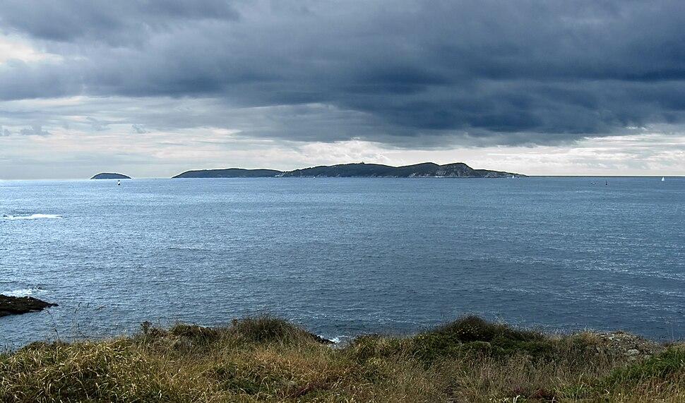 Illa de Ons e de Onza. Galicia (Spain)