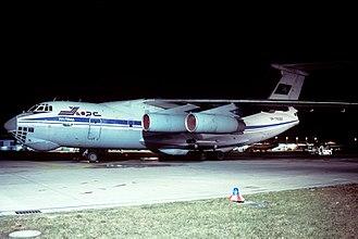 Khors Air - A Khors Air Ilyushin Il-76 in 1996