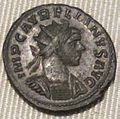 Impero, aureliano, aureliano in biglione (lione), fine del 274..JPG