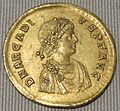 Impero d'oriente, arcadio, multiplo in oro (costantinopoli), 383-388.JPG
