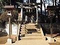 Inari Shrine (稲荷神社) in Taishido Hachiman Shrine (太子堂八幡神社) - panoramio.jpg