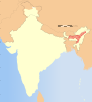 India Assam locator map.svg