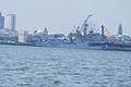 Indian Navy- R22 INS Viraat, F39 INS Betwa (3959725022).jpg