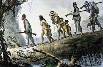 Resultado de imagem para escravizar os indígenas
