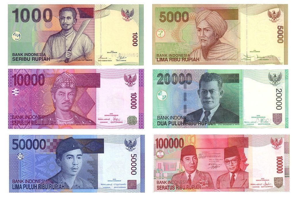 File Indonesian Rupiah Idr Banknotes Jpg