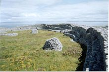Forte ad anello sull'isola di Inishmaan, Isole Aran, Irlanda. Foto di Jonathan Leonard.